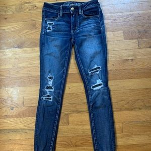 American eagle skinny jeans jeggings 2